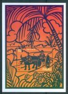 1997 Palau Year Of The Ox Block MNH** Ye50 - Chinese New Year
