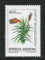 Argentina 1982. Scott #1346 (MNH) Flower, Fleur, Tillandsia Aeranthos - Argentine