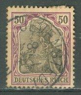 DEUTSCHES REICH 1902: Mi 76 / YT 74, O - KOSTENLOSER VERSAND AB 10 EURO - Deutschland