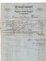 1853 FATTURA - Francia