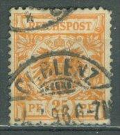 DEUTSCHES REICH 1889: Mi 49 / YT 49, O - KOSTENLOSER VERSAND AB 10 EURO - Germania
