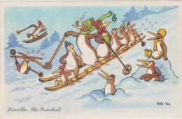 ROB-VEL Zooville Ski Familial - Autres Illustrateurs