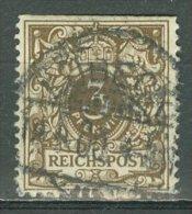 DEUTSCHES REICH 1889: Mi 45 / YT 45, Geschnitten, O - KOSTENLOSER VERSAND AB 10 EURO - Germania