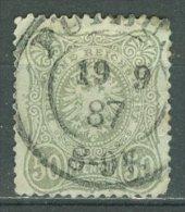 DEUTSCHES REICH 1880: Mi 44 PF IV / YT 41, O - KOSTENLOSER VERSAND AB 10 EURO - Errori Di Stampa