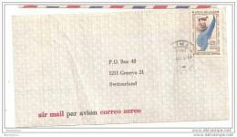AM - 11534 - Lettre Avion Envoyée Du Pérou Suisse - Pérou