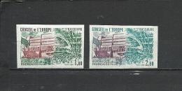 FRANCE  1982  Council Of Europe  2v. Imperf. Rare! - France