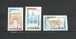 FRANCE  1981 UNESCO Heritage  3v. Imperf. Rare! - France
