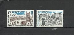 FRANCE  1983 UNESCO Heritage  2v. Imperf. Rare! - France