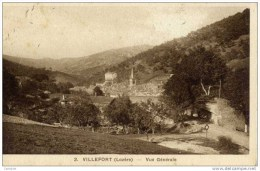 48-VILLEFORT-Vue Générale- - Villefort