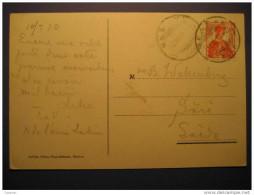 Geneve 1913 To Sari Sweden On Quai Du Mont-Blanc Mountain Mountains Post Card - Schweiz