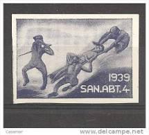 San Abt 4 1939 Medicine Soldatenmarken - Viñetas