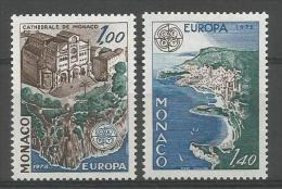 TP DE MONACO N° 1139 à 1140  NEUFS SANS CHARNIERE - Mónaco