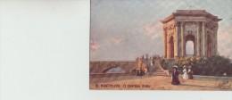 """N  Beraud                          12  Montpellier ; Le  Chateau  D,Eau                """"oilette"""" - Illustrators & Photographers"""