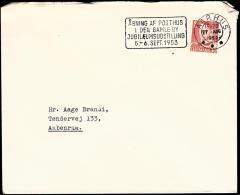 1953. ÅBNING AF POSTHUS I DEN GAMLE BY JUBILÆUMSUDSTILLING 5.-6. SEPT 1953. AARHUS 26 A... (Michel: ) - JF500663 - Non Classés