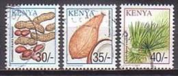 Kenia  753-55 , O   (M 1629) - Kenia (1963-...)