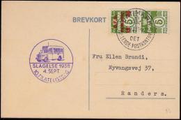 1938. DANMARK DET RULLENDE POSTKONTOR 4.9.38.  (Michel: 243) - JF500674 - Non Classés