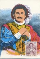 ITALIA - FDC  MAXIMUM CARD 1973 - ENRICO CARUSO - RIGOLETTO - MUSICA - Maximum Cards