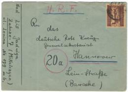 POLONIA - POLSKA - 1957 - Curie - Viaggiata Da Zabrze Per Hannover, Germany - 1944-.... Republic