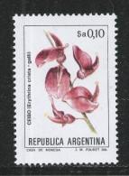Argentina 1983. Scott #1430 (MNH) Flower, Fleur, Erythrina Crista-galli - Argentine