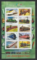 FRANCE 2001 - MNH - TRAINS - Trains
