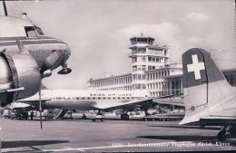 Aviation, Flughafen Zürich - Kloten, Avion Swiss Air Lines (6400) - 1946-....: Moderne