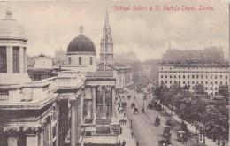 CPA - National Gallery & St Martin's Church - LONDON - 1912 - London