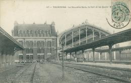 59 TOURCOING / La Nouvelle Gare, Le Hall Et Les Quais / - Tourcoing