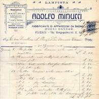 1918 FIRENZE - FABBRICA DI APPARECCHI DA BAGNO - Italia
