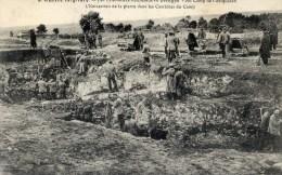 Guerre 1914.1915 Camp De Coetquidan Prisonniers Allemands Extraction De La Pierre CarrièresTRES Animée - Guerre 1914-18
