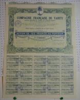 Cie Française De Tahiti à Papeete, Oceanie - Banque & Assurance