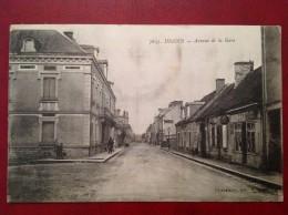 71 Saone Et Loire Cpa DIGOIN Avenue De La Gare - Digoin
