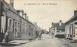 Ravenel (Oise) - Rue De Montigny - Belle Animation - Carte IPM Non Circulée - Frankrijk