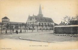 La Croix St-Ouen (Oise) - L'Eglise - Edition Bourson - Carte Non Circulée - Frankrijk