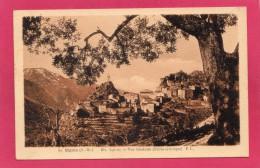 06 ALPES-MARITIMES SIGALE, Vue Générale (Etude Artistique), 1947, (F. Laugier, Nice) - Autres Communes