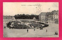10 AUBE TROYES, Le Square De La Préfecture, Animée, 1915, (S. Brunclair, Troyes) - Troyes