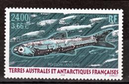 TAAF 268  Poisson Lanterne Neuf ** MNH Sin Charmela Faciale 3.66 - Tierras Australes Y Antárticas Francesas (TAAF)