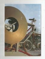Cp , Publicité , BORDEAUX , Cipède : Acceuil Deux Roues Devant La Bibliothéque , 1991, 2 Scans - Pubblicitari