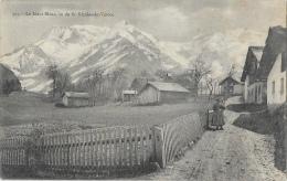 Le Mont-Blanc, Vu De St Nicolas-de-Véroce - Carte N° 527 - Francia