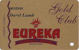 Eureka Casino Mesquite NV - 2nd Issue Slot Card - ACC Mfg Mark (Printed) - Cartes De Casino