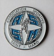 Pin's Association Sportive Saint Mard - C016 - Pin's