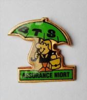 Pin´s BTS Assurances Niort - Badges