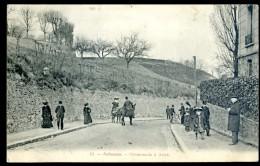 Cpa Du 92 Robinson Promenade à Ânes    FEV16 1 - Le Plessis Robinson