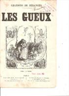 Les Gueux. Béranger. - Partitions Musicales Anciennes