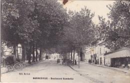BARBEZIEUX  EN CHARENTE  LE BOULEVARD GAMBETTA - France