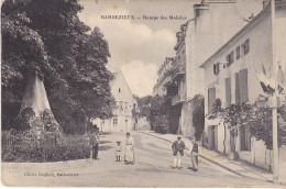 BARBEZIEUX  EN CHARENTE  RAMPE DES MOBILES - France