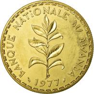 Monnaie, Rwanda, 50 Francs, 1977, FDC, Laiton, KM:E7 - Rwanda