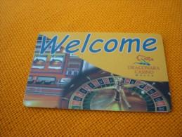 Malta Dragonara Casino Magnetic Player´s Member Slot Card - Casino Cards