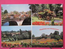 Pas Très Courante - 01 - Chatillon Sur Chalaronne Ville Fleurie - Neuve Bon état - Scans Recto-verso - Châtillon-sur-Chalaronne