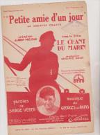 (GB4)petite Amie D'un Jour , ALBERT PREJEAN , Paroles : SERGE VEBER, Musique : GEORGES VAN PARYS - Spartiti