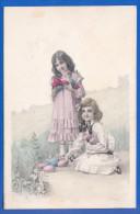 Fantaisie; Kinder; Künstlerkarte R. Auer; 1907 Stempel Zürich - Non Classificati